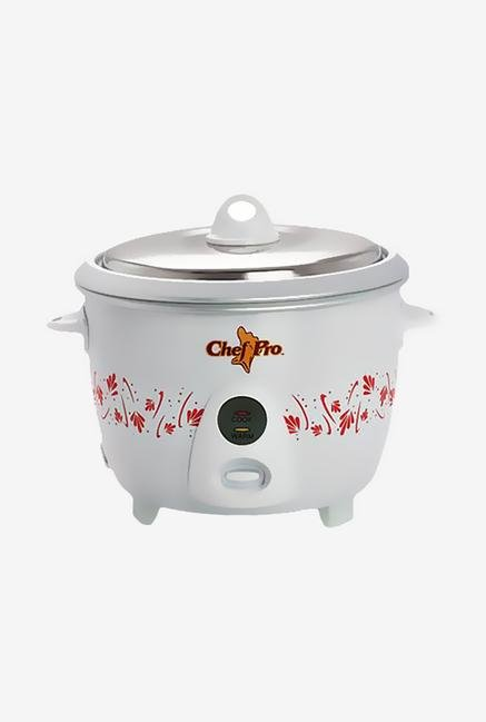 Chef Pro CPR908 1.5L Automatic Shut-Off Rice Cooker (White)