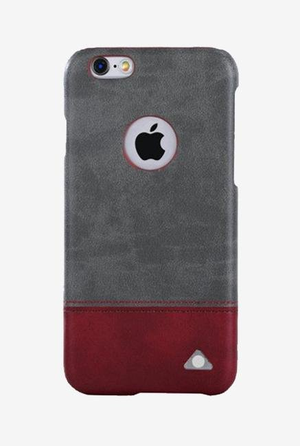 Stuffcool Vogue Back Cover for iPhone 6/6s (Grey/Red)