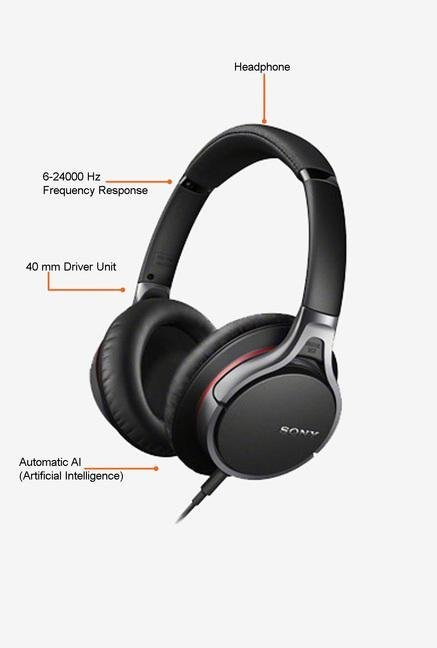 Sony MDR-10RNC Headphone (Black)