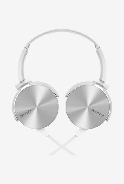 SONY MDR-XB450/W Headphone White