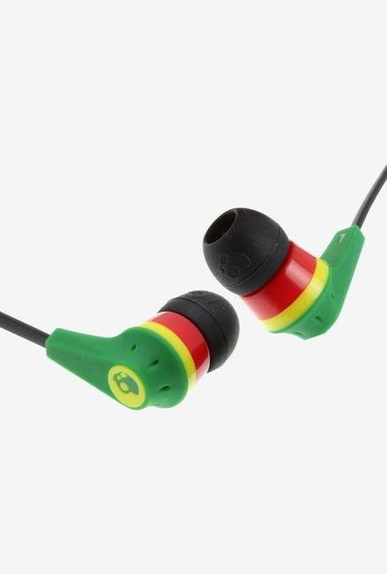 Skullcandy Ink'd 2 S2IKDY-102 In the Ear Headphone Rasta