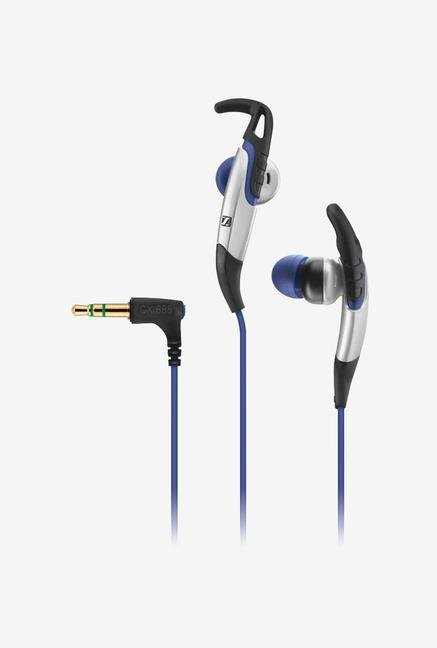 Sennheiser CX 685 In the Ear Headphone (Blue/Black)