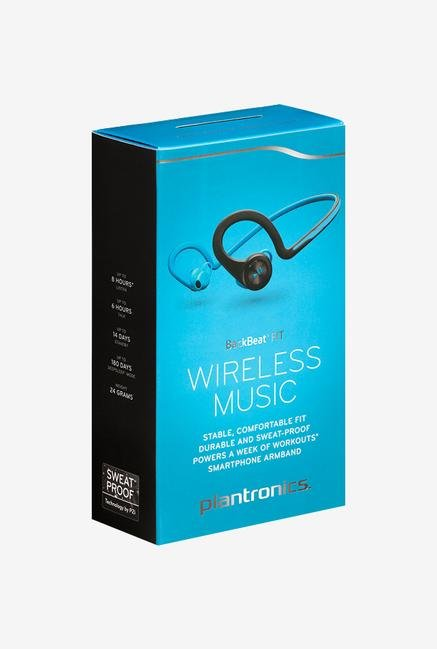 Plantronics BackBeat Fit In the Ear Headphone Blue
