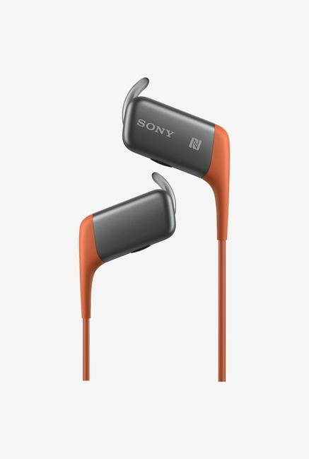 SONY MDR-AS600BT In the Ear Headphone Orange