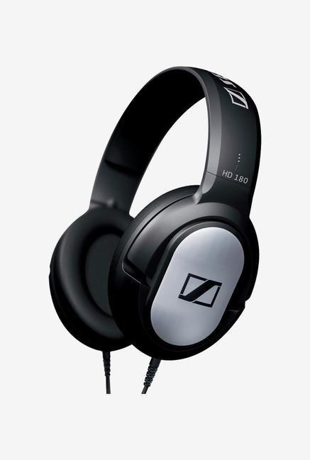 Sennheiser HD180 Wired Headphone (Black)