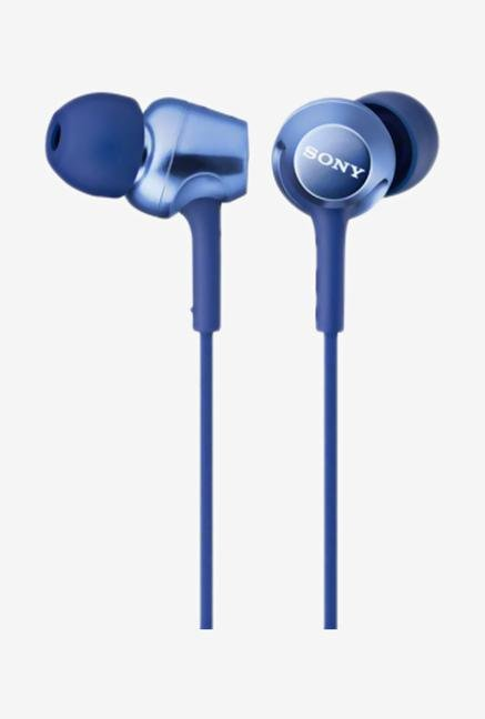 SONY MDR-EX250AP/L In the Ear Headphone Blue