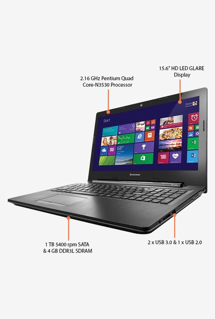 LENOVO G50-30 80G0018VIN Laptop Black