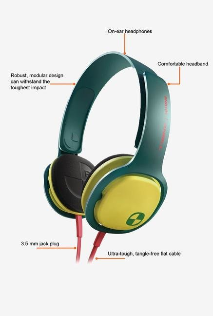 Philips O'Neill SHO3300ACID/00 Headphone Green