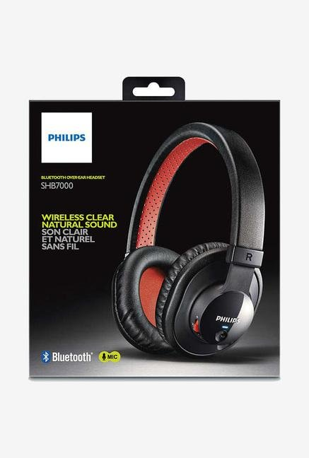 Philips SHB7000/00 Headset Black