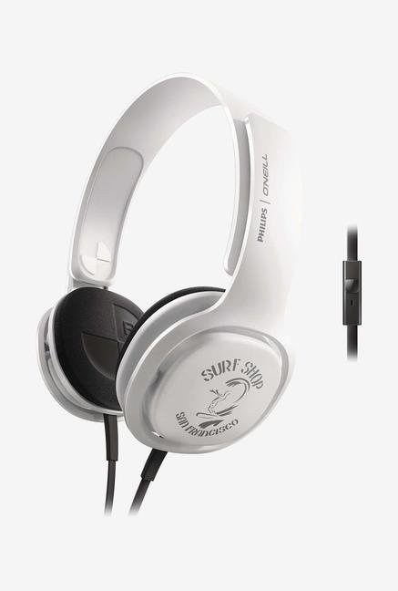 Philips O'Neill SHO3305STKR/00 Headband Headphone White