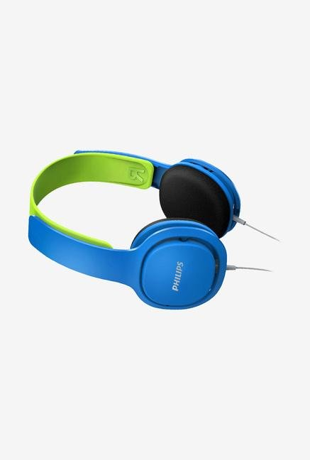 Philips SHK2000BL/00 Headphone Blue and Green