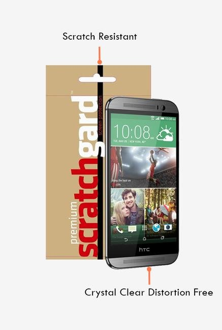 ScratchGard HTC One M8 Screen Protector