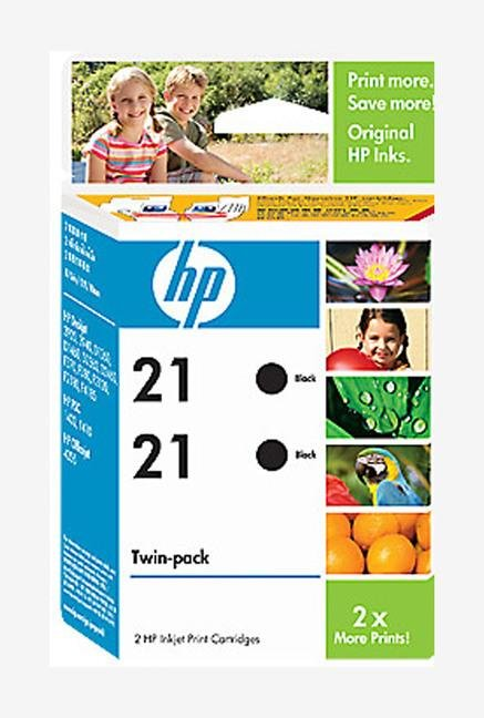 HP 21 21 2-pack Cartridge Black