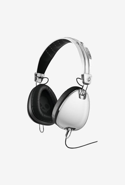Skullcandy Aviator S6AVFM-158 Headphone Silver