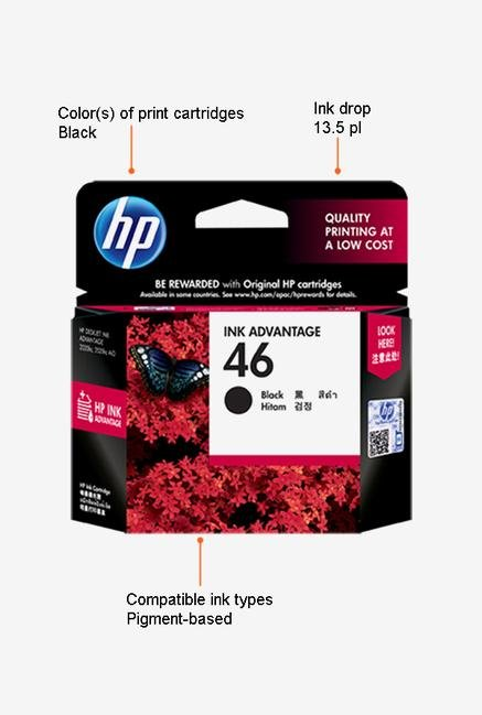 HP CZ637AA Cartridge Black