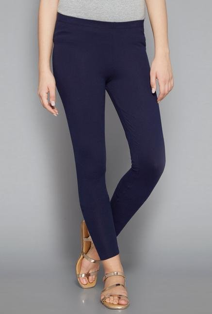Bombay Paisley Navy Leggings