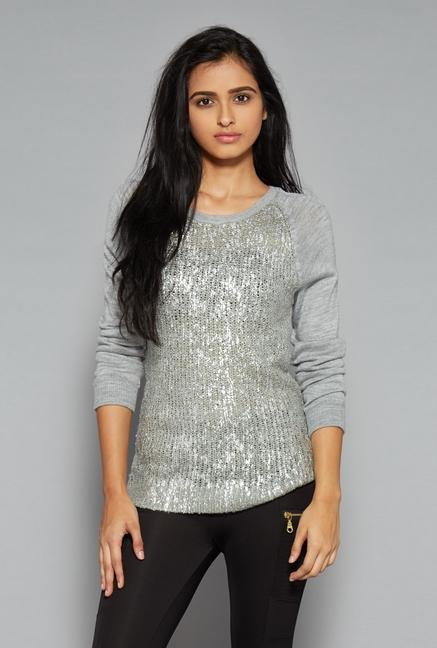 Nuon by Westside Grey Sweater