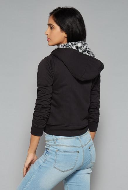 Nuon by Westside Black Salma Sweater