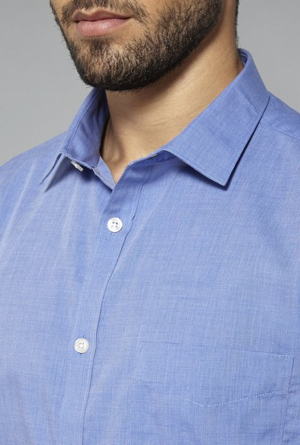 Weststreet Blue Slim Fit Shirt
