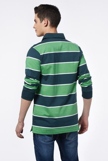 Provogue Green Polo T Shirt