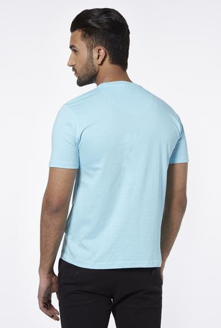 Provogue Teal Crew T Shirt
