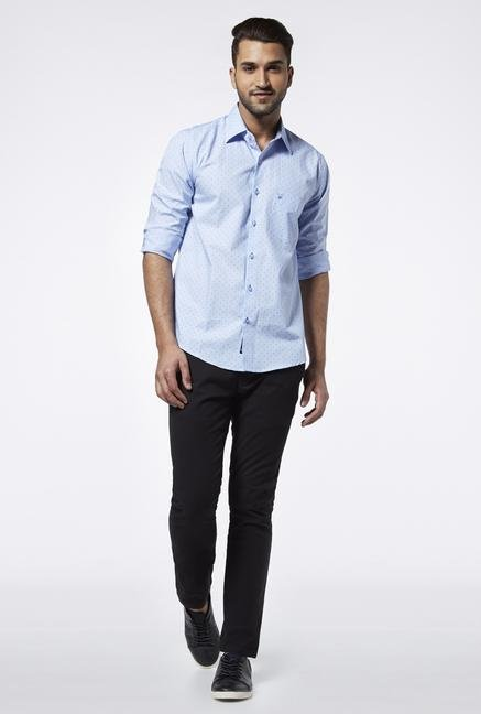 Provogue Light Blue Slim Fit Shirt
