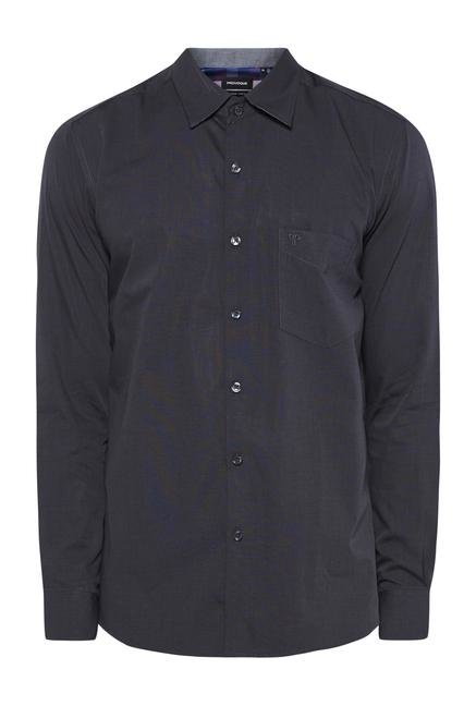 Provogue Charcoal Regular Fit Shirt