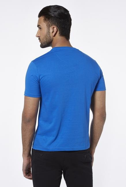 Provogue Blue Crew T Shirt
