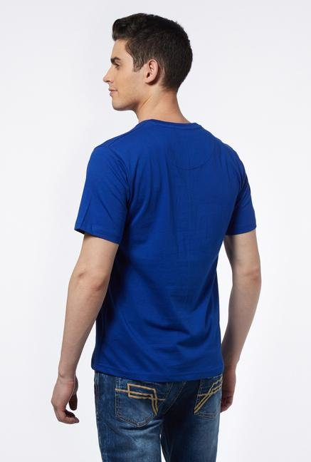 Provogue Dark Blue V Neck T Shirt