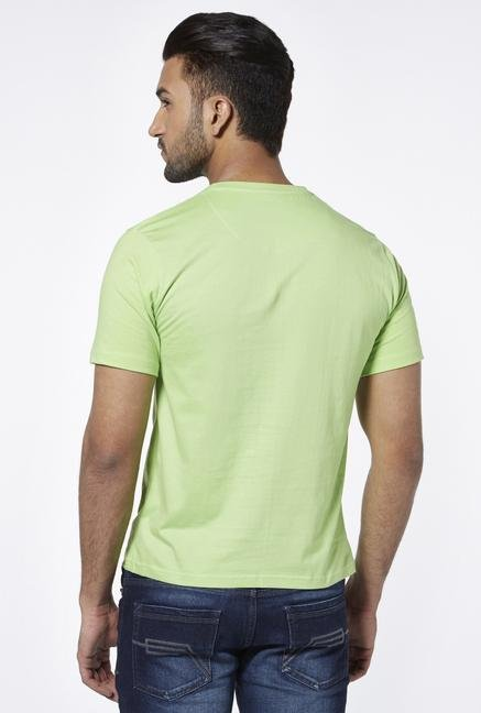 Provogue Green V Neck T Shirt