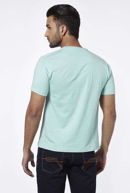 Provogue Sea Green Crew T Shirt