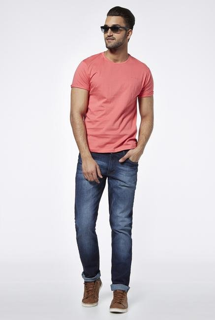 Provogue Coral Crew T Shirt