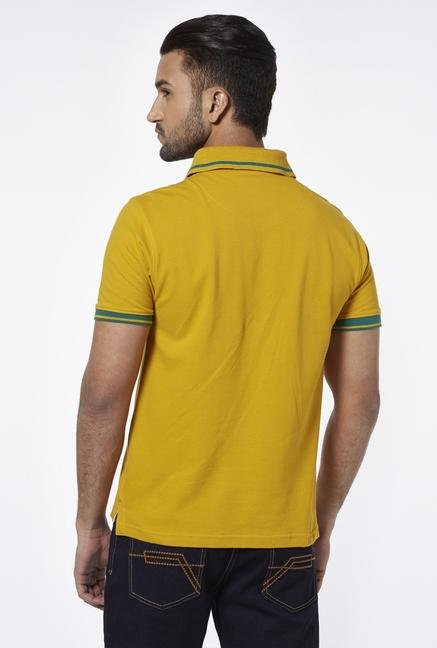 Provogue Gold Polo T Shirt