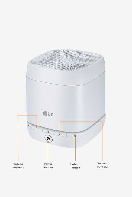 LG NP1540W Bluetooth Speaker White