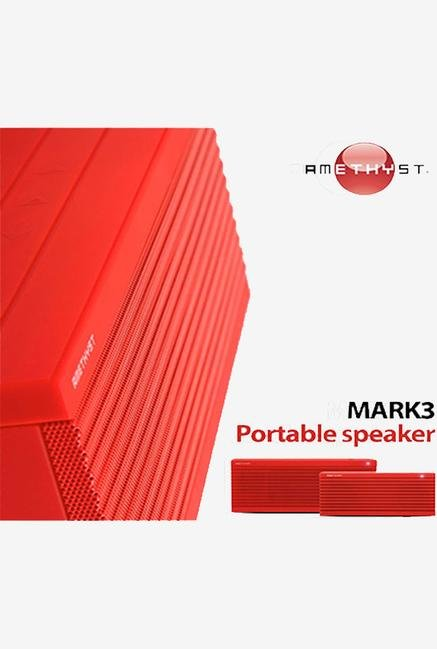 Amethyst Mark 3 Bluetooth Speaker Red