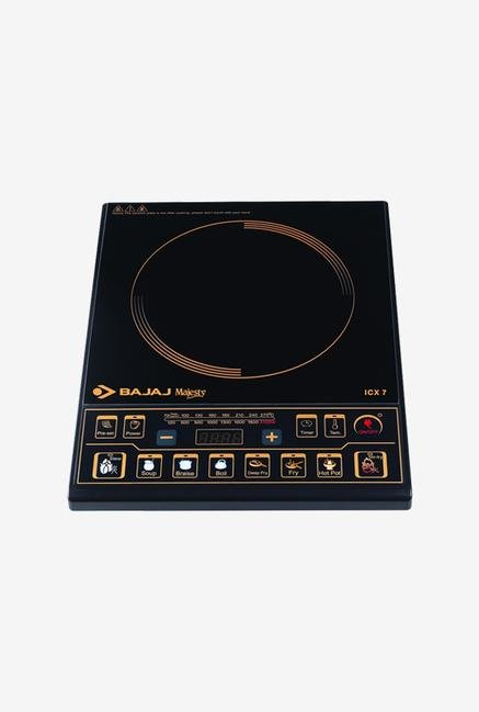 Bajaj Majesty ICX 7 1900W Induction Cooker (Black)