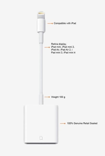 APPLE MD822ZM/A Card Reader White