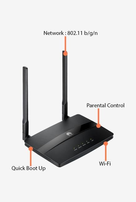 Huawei WS319 Router Black