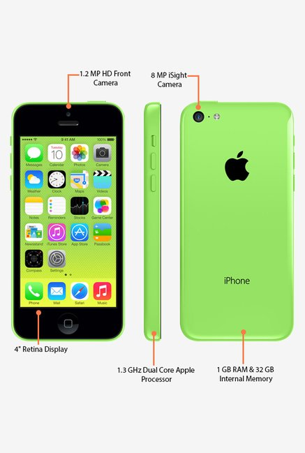 Apple iPhone 5C A1507 32GB (Green)