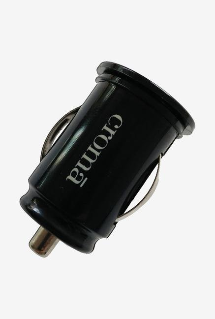 Croma CA2264 USB Car Charger Black