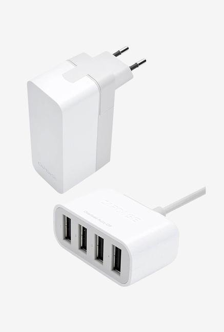 Capdase AD00 7P02 Quartet USB Power Adapter (White)