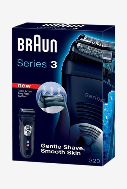 Braun Series 3 320 Shaver Black