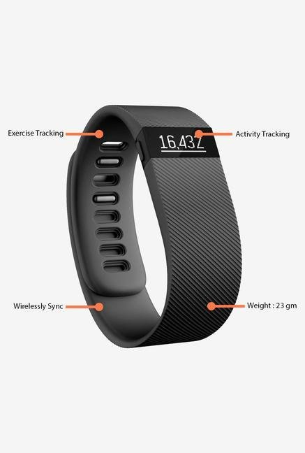FITBIT Charge Fitness Tracker (Black)