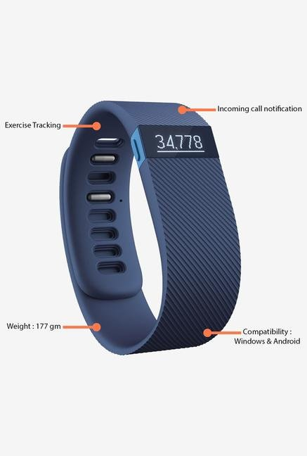 FITBIT Charge Fitness Tracker Blue