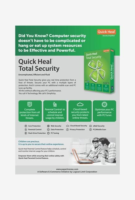 QuickHeal Total Security Software