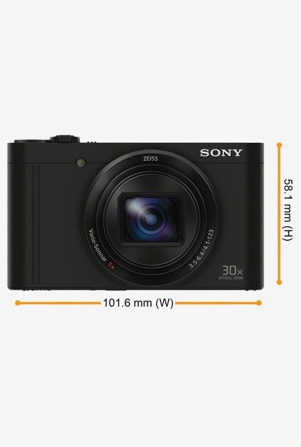 SONY Cyber-shot DSC-WX500/B 18 MP Camera Black