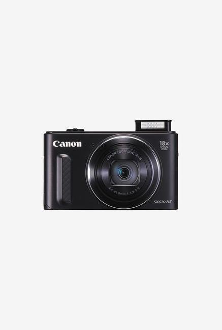 Canon PowerShot SX610 20.2 MP Point & Shoot Camera (Black)