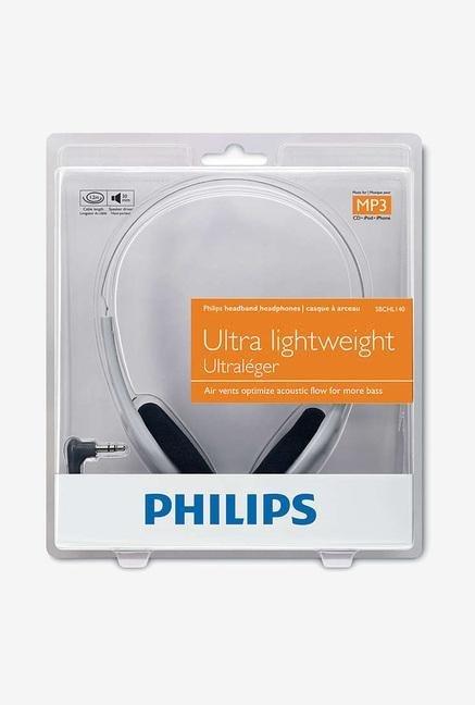 Philips SBCHL140/98 On the Ear Headphone Grey Philips Electronics TATA CLIQ