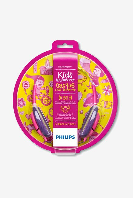 Philips SHK1031/00 On the Ear Headphone Pink and Purple