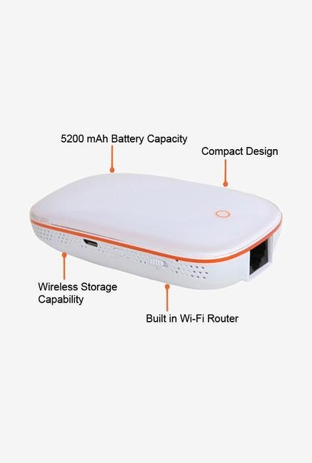 Skywater SW-019 Power Bank White